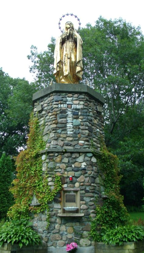 Statue Mother Mary from Cathedral VT