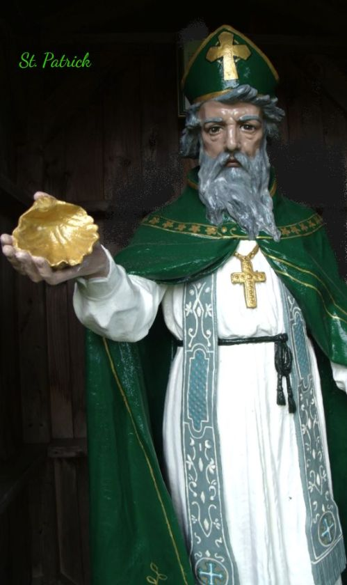 St. Patrick With Shell