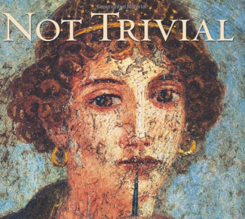 Not trivial cover by Laurie Endicott Thomas
