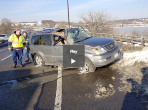 Revere man survives crash after being throw 50 feet