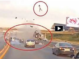 Worst Car Crashes In The World Caught On Tape