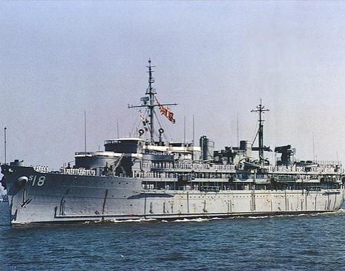US Navy Submarine tender