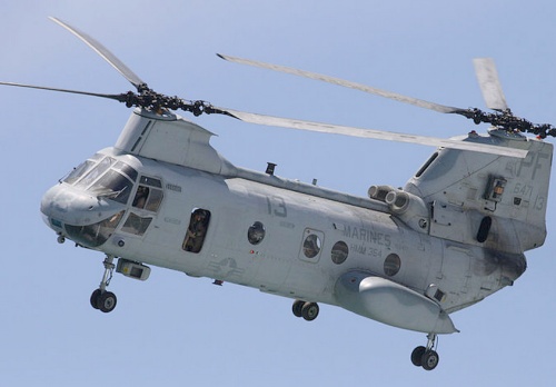 File:CH-46 Sea Knight Helicopter.jpg photo credit wikipedia