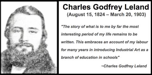 Charles Godfrey Leland Industrial arts
