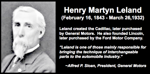 Henry Martyn LelandCadillac and Lincoln